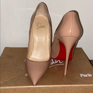 Authentic Louboutin So Kate 120 MM Patent Pump
